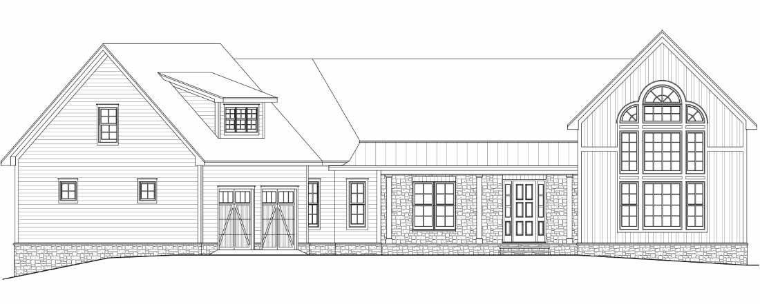 Illustration of current custom home project in Anchors Landing