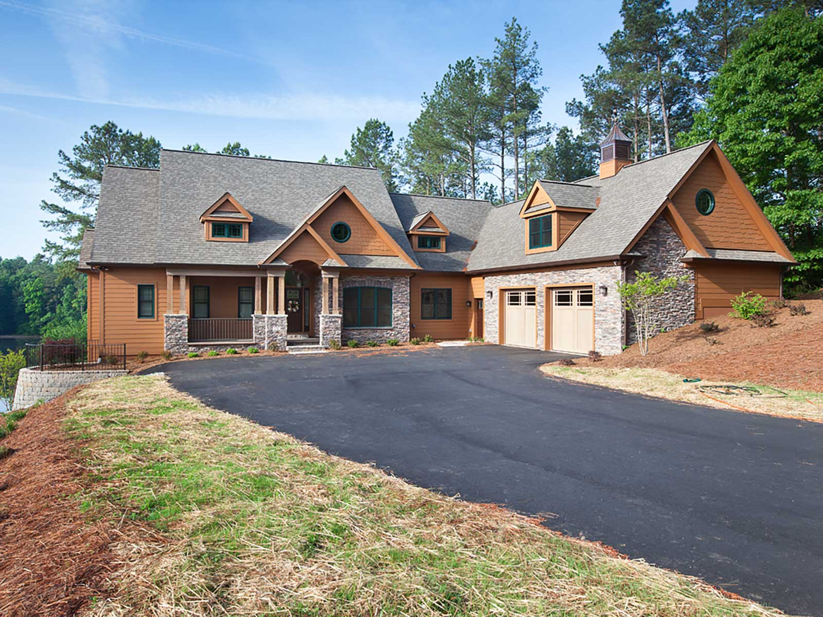 North carolina custom home contractor builder jcm for Custom home builder contract