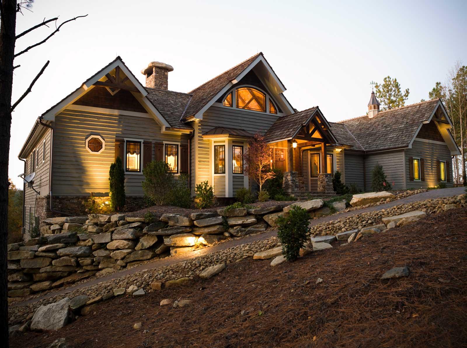 North carolina custom home contractor builder jcm for Custom home builders chattanooga tn