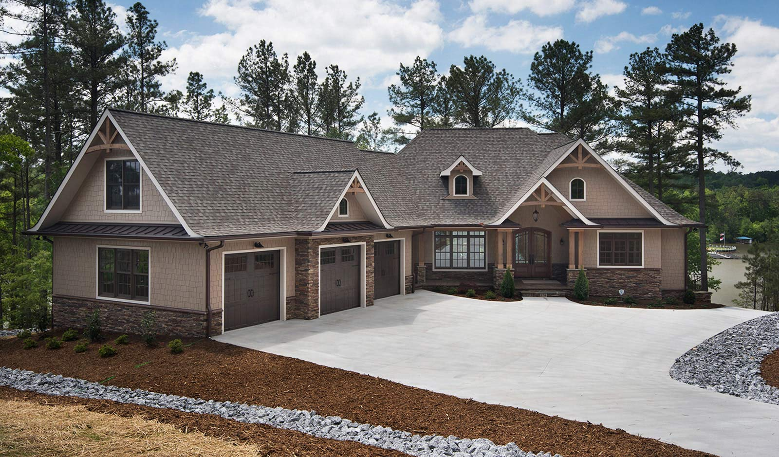 A custom home built by JCM Custom Homes